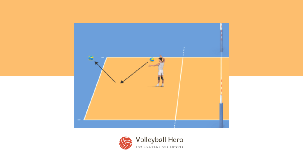 The Wall Spike Volleyball Drill