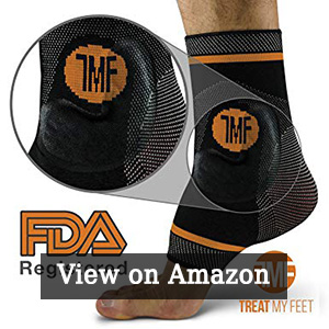 Treat My Feet - Best Copper Infused Compression Ankle Brace ASO Ankle Stabilizer