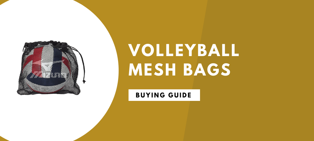 best volleyball mesh bags