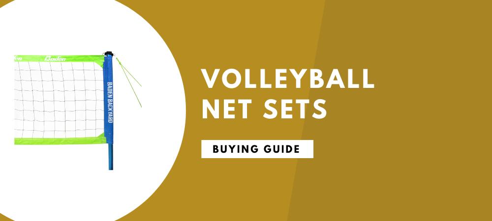 best volleyball net sets